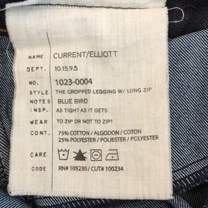 Current/Elliott Jeans - Current Elliot Skinny Jeans
